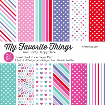 My Favorite Things SWEET STACK 6x6 Inch Paper Pad 9336