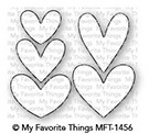 My Favorite Things LOTS OF HEARTS Die-Namics MFT1456 Preview Image