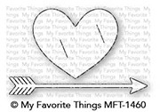 My Favorite Things STRAIGHT FROM THE HEART Die-Namics MFT1460 Preview Image
