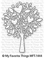 My Favorite Things HEART TREE Die-Namics MFT1444 Preview Image