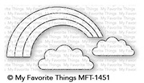 My Favorite Things ONCE UPON A RAINBOW Die-Namics MFT1451 Preview Image