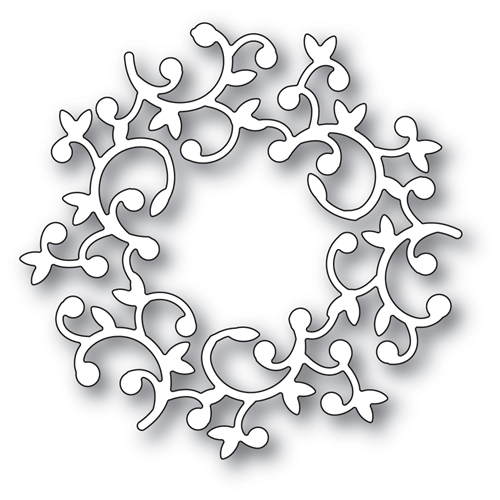 Memory Box HUTTON WREATH Craft Die 94008 Preview Image
