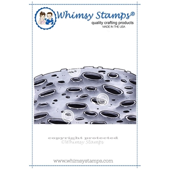 Whimsy Stamps MOON BACKGROUND Cling Stamp DP1001