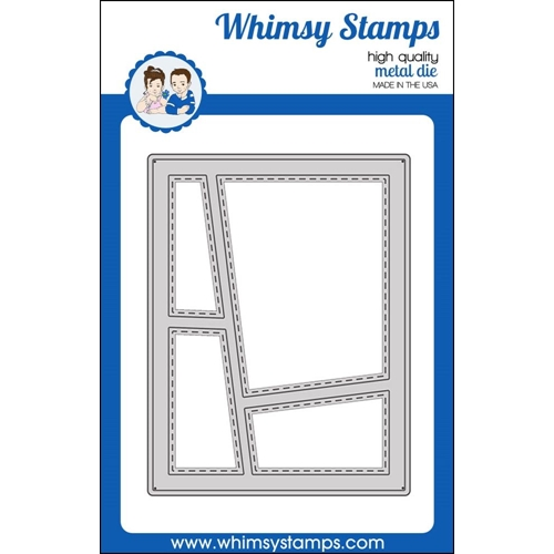 Whimsy Stamps WONKY WINDOW 1 Die WSD363 Preview Image