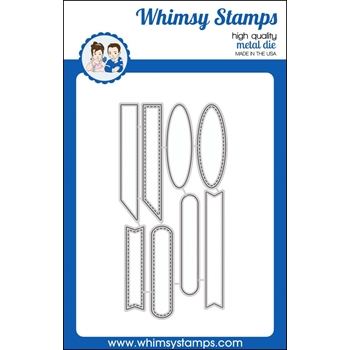 Whimsy Stamps QUICK STRIPS Dies WSD330