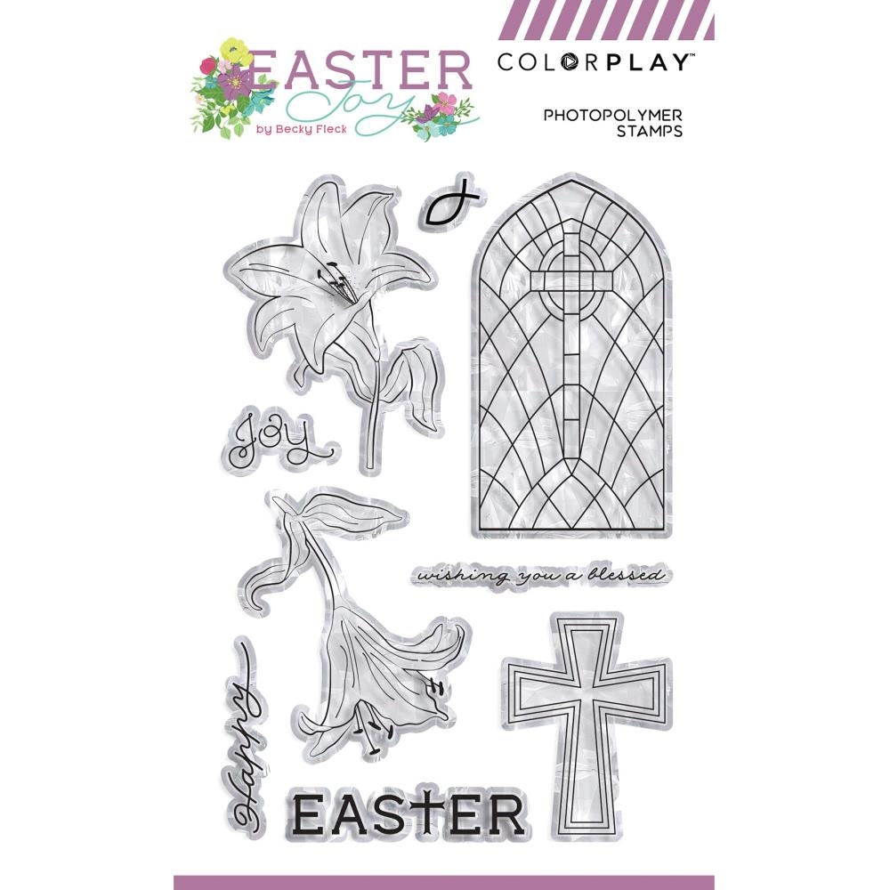 PhotoPlay EASTER JOY Clear Stamps ColorPlay ej9223 zoom image