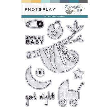 PhotoPlay SNUGGLE UP BOY Clear Stamps snb9247*