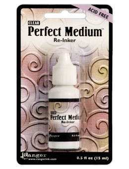 Ranger PERFECT MEDIUM REINKER Refill Pearls Clear Ink PPP16212 Preview Image