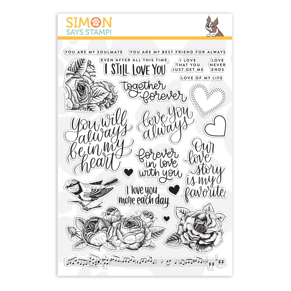 Simon Says Clear Stamps LOVE ALWAYS sss101897 zoom image