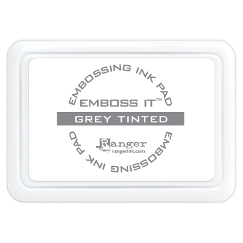 Ranger Inkssentials EMBOSS IT GREY TINTED Embossing Ink Pad emb65555 Preview Image