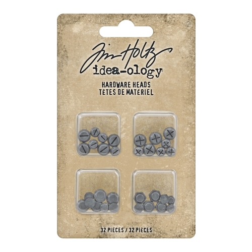 Tim Holtz Idea-ology HARDWARE HEADS th93788 Preview Image