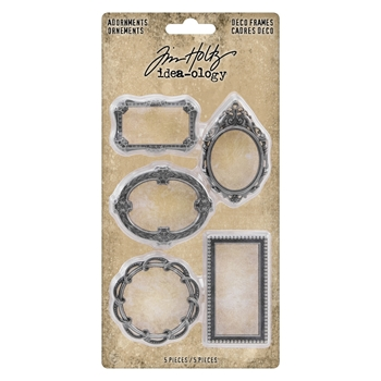 Tim Holtz Idea-ology DECO FRAMES Adornments th93792