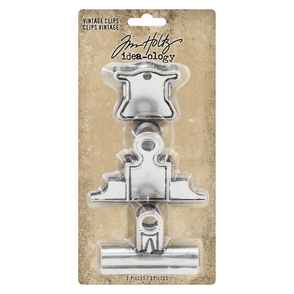 Tim Holtz Idea-ology VINTAGE CLIPS th93795 zoom image