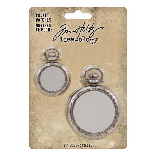 Tim Holtz Idea-ology POCKET WATCHES th93960 Preview Image