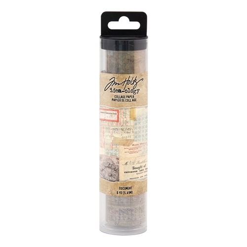 Tim Holtz Idea-ology DOCUMENT Collage Paper th93951 Preview Image