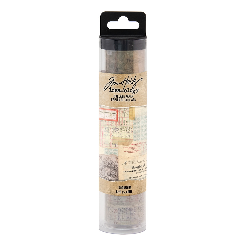 Tim Holtz Idea-ology DOCUMENT Collage Paper th93951 zoom image