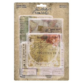 Tim Holtz Idea-ology JOURNAL CARDS th93957