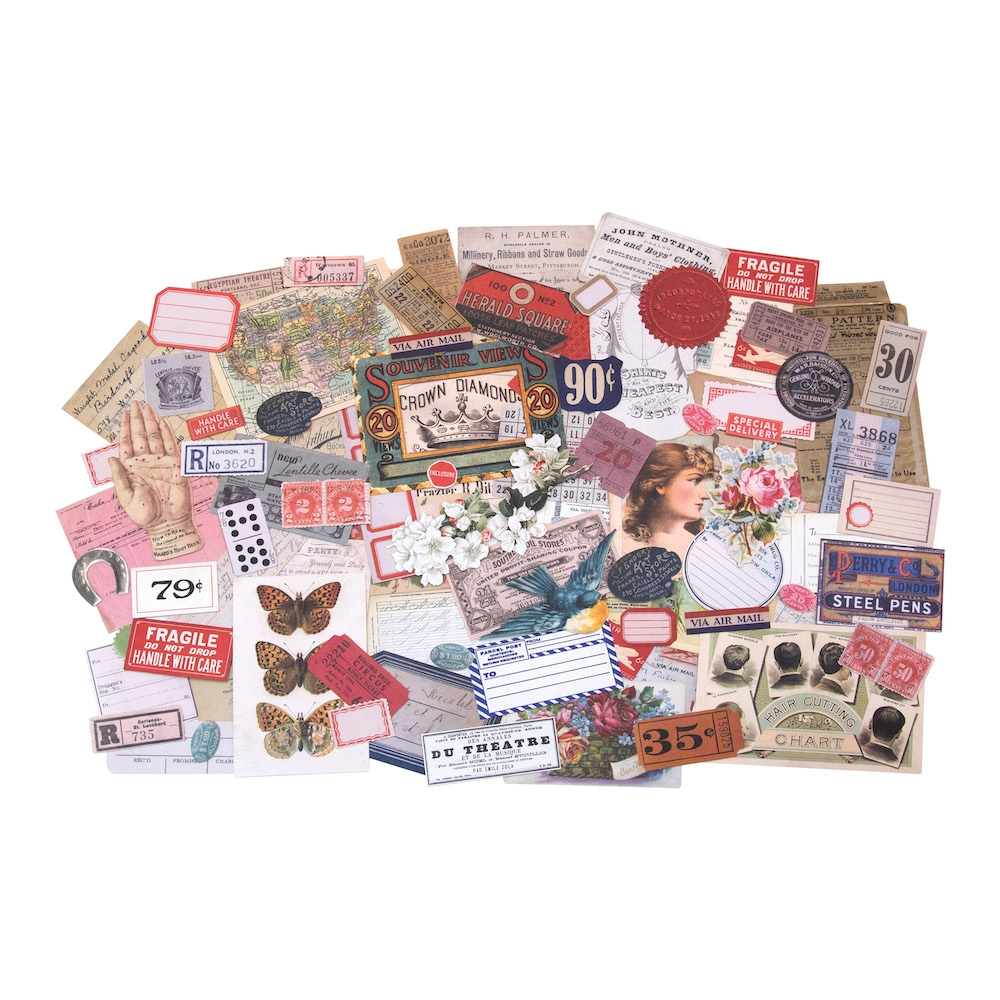 Tim Holtz Idea-ology KEEPSAKES Ephemera th93958 zoom image