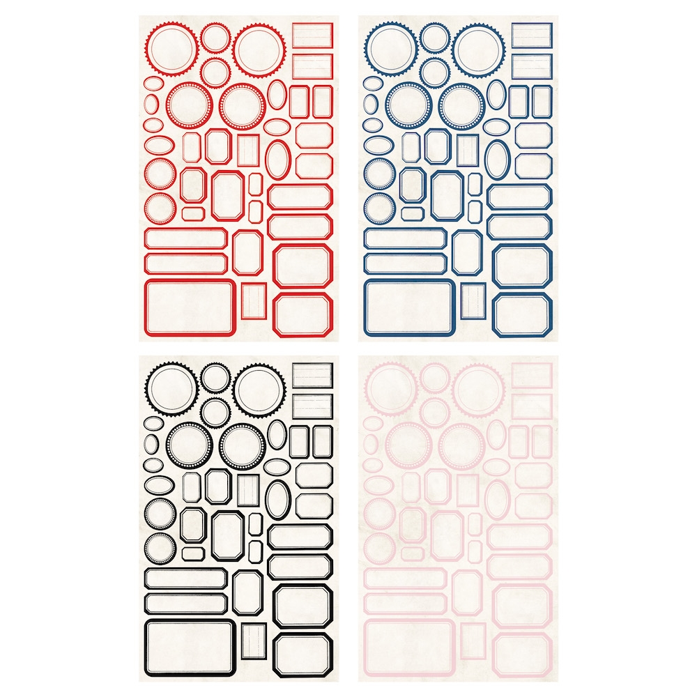 Tim Holtz Idea-ology CLASSIC LABEL STICKERS th93959 zoom image