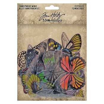 Tim Holtz Idea-ology TRANSPARENT WINGS th93785