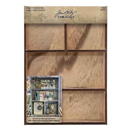 Tim Holtz Idea-ology VIGNETTE DIVIDED BOX th93794 Preview Image