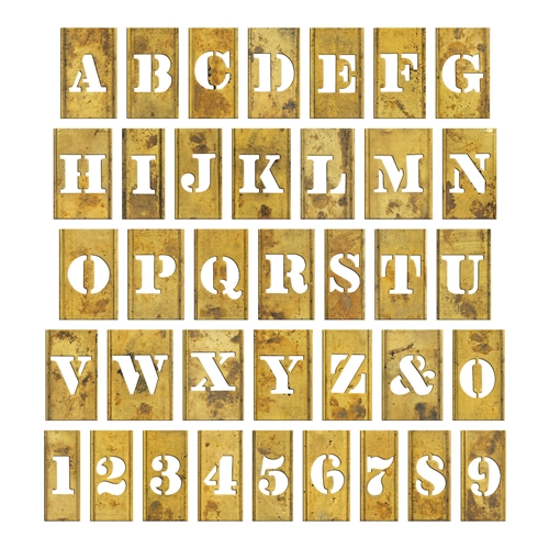 Tim Holtz Idea-ology STENCIL CHIPS th93954 Preview Image