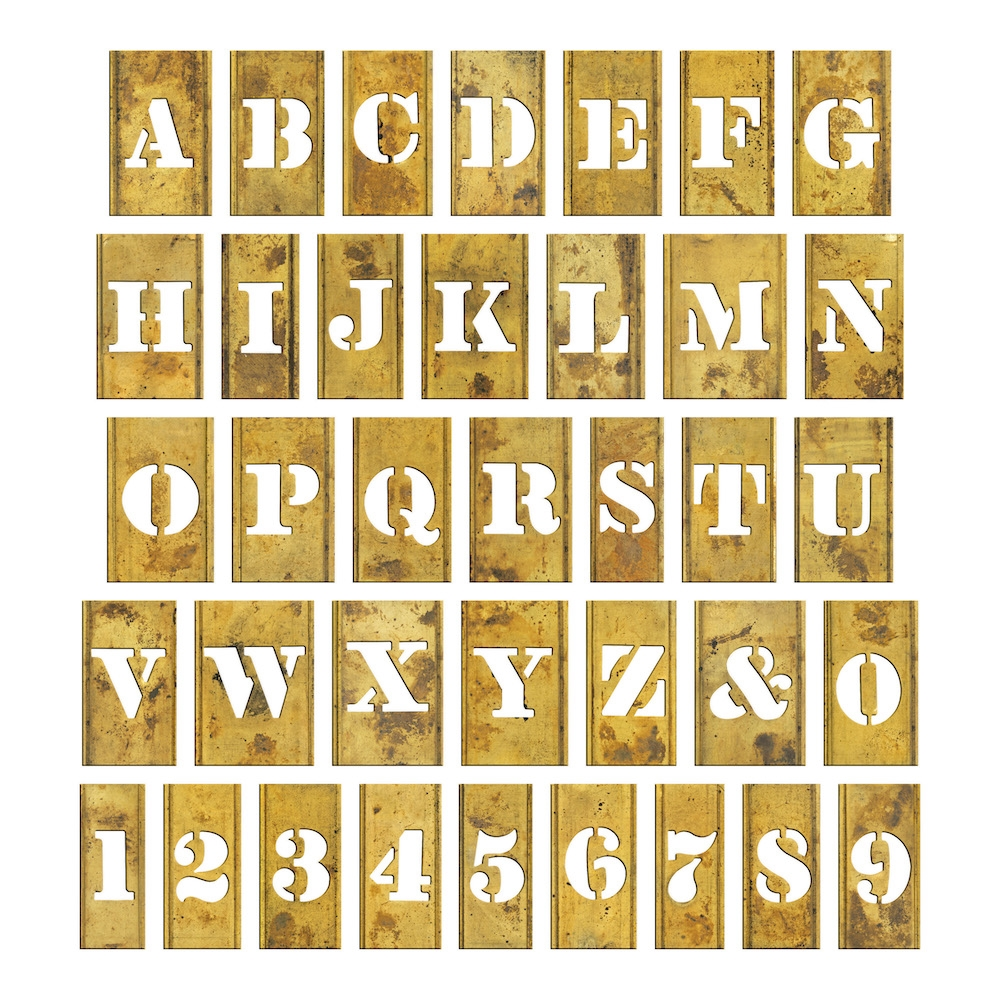 Tim Holtz Idea-ology STENCIL CHIPS th93954 zoom image