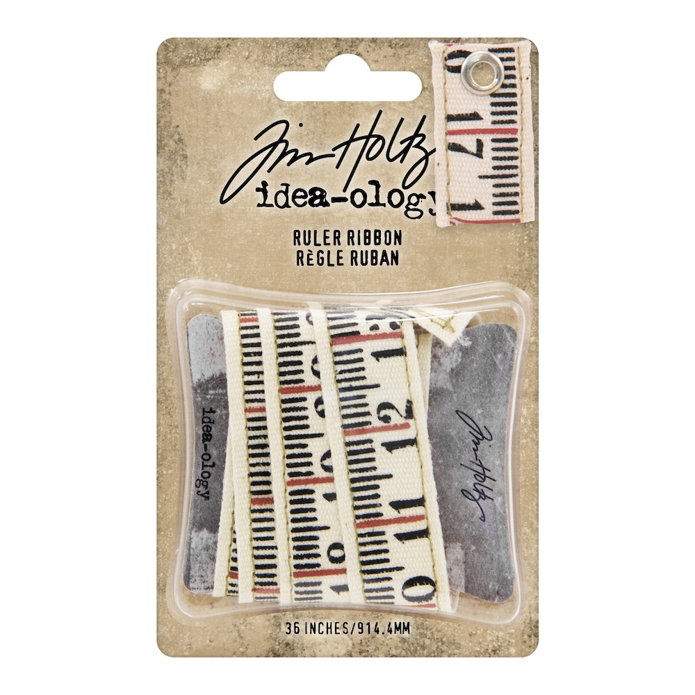 Tim Holtz Idea-ology RULER RIBBON th93955 zoom image