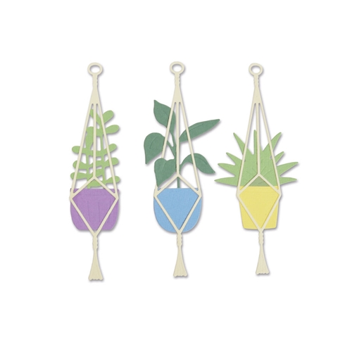Sizzix HANGING PLANTER Thinlits Die Set 663321 Preview Image