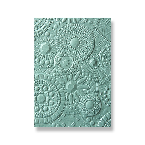 Sizzix Textured Impressions MOSAIC GEMS 3D Embossing Folder 663206 Preview Image