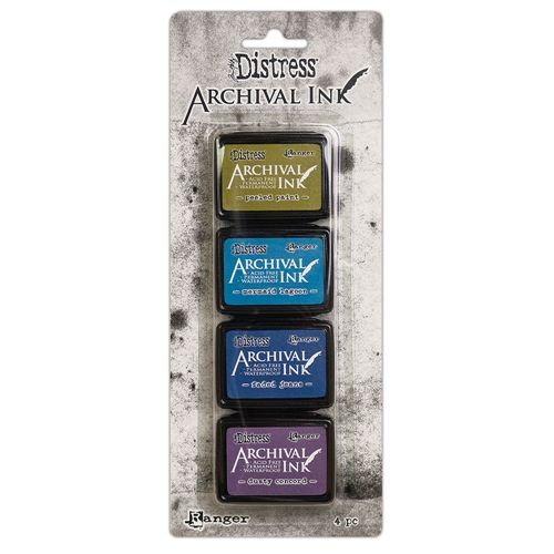 Tim Holtz, Archival Ink Mini Kit 2
