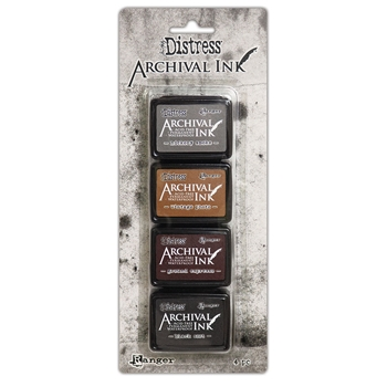Tim Holtz Distress Archival Ink Pad MINI KIT 3 Ranger aitk64848