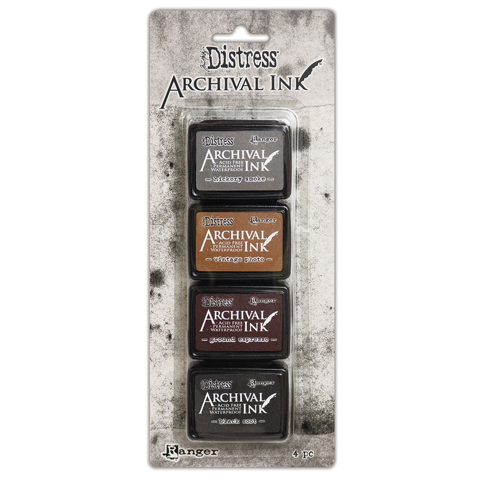 Tim Holtz Distress Archival Ink Pad MINI KIT 3 Ranger aitk64848 zoom image