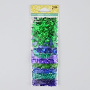 Jillibean Soup SEQUIN JEWEL COOL MIX Shaker Fillers jb1793