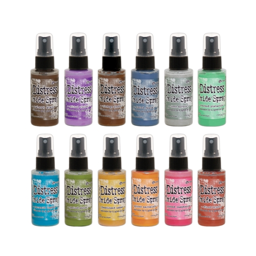 Tim Holtz Distress Oxide Ink Sprays, set of 12