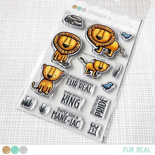 Create A Smile FUR REAL Clear Stamps clcs98 Preview Image