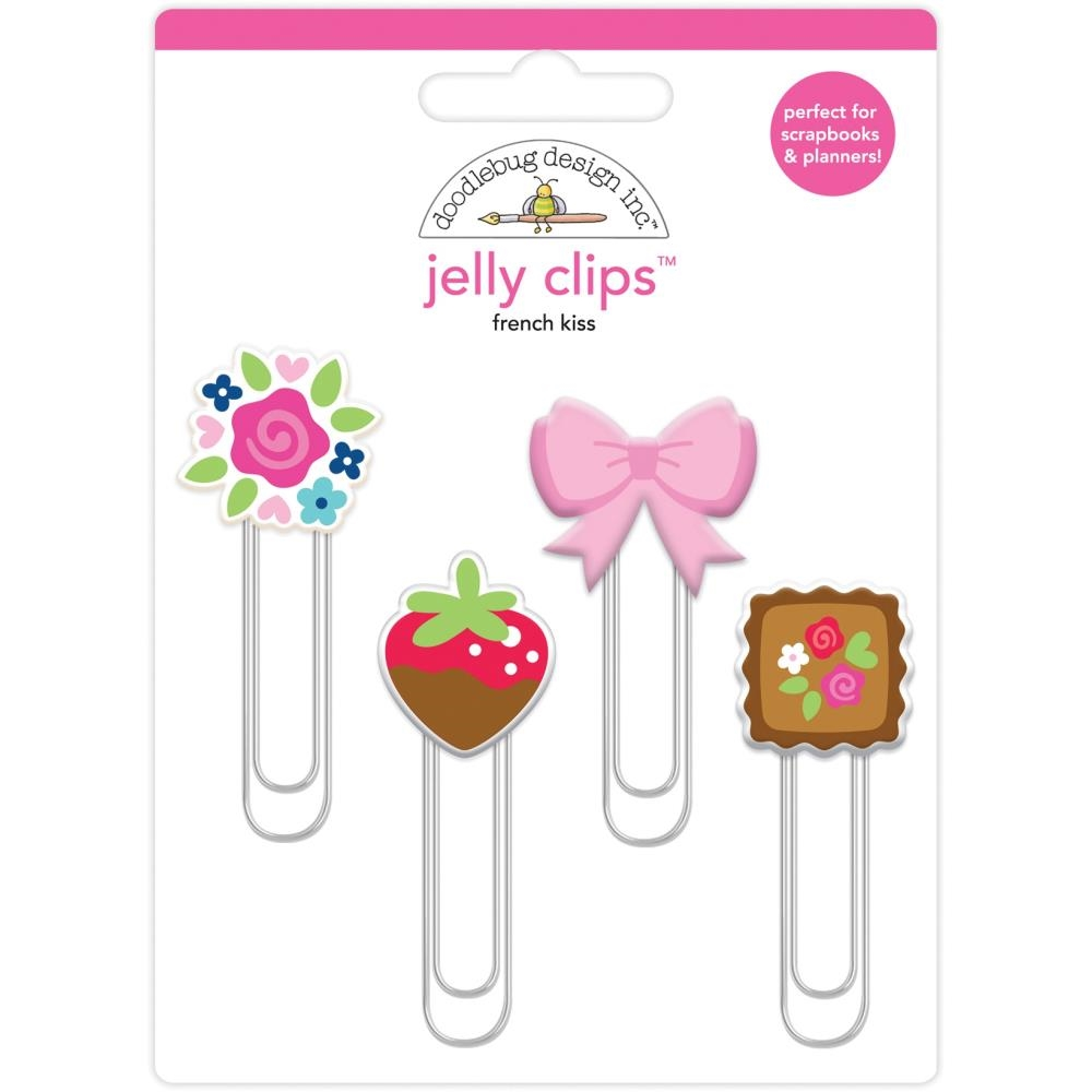 Doodlebug FRENCH KISS Jelly Clips Paper Clip 6244 zoom image