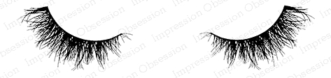 Impression Obsession Cling Stamp SWEET EYELASHES C20631 Preview Image