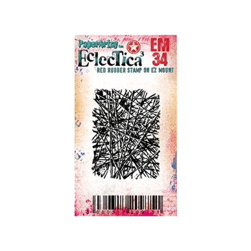 Paper Artsy ECLECTICA3 SETH APTER MINI 34 Cling Stamp em34 Preview Image