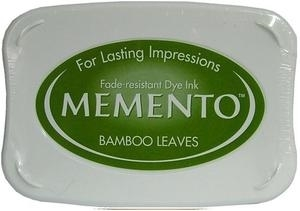 Tsukineko Memento Ink Pad BAMBOO LEAVES Green ME-707 Preview Image