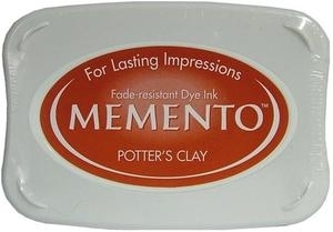 Tsukineko Memento Ink Pad POTTER'S CLAY ME-801 Preview Image