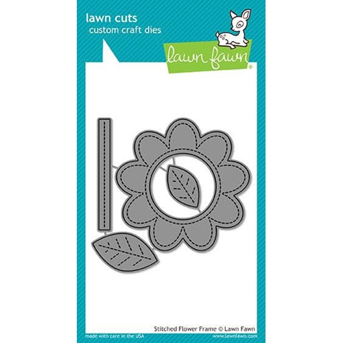 Lawn Fawn STITCHED FLOWER FRAME Die Cuts LF1921 Preview Image