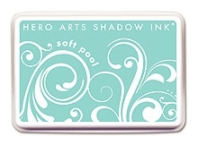 Hero Arts SHADOW Ink Pad SOFT POOL Aqua AF146