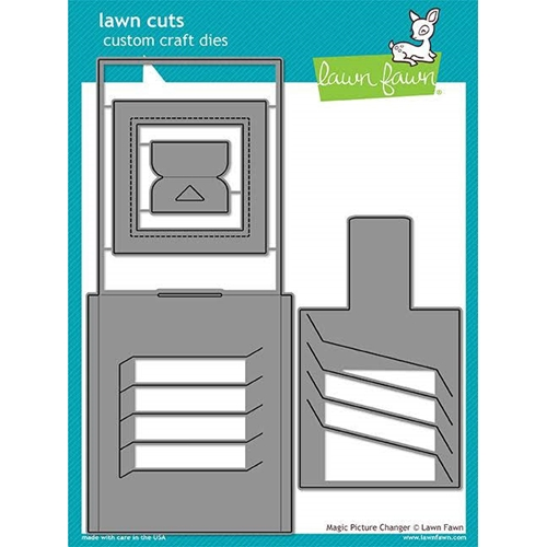 Lawn Fawn MAGIC PICTURE CHANGER Die Cuts LF1903 Preview Image