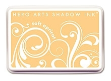 Hero Arts SHADOW Ink Pad SOFT APRICOT Orange AF145 Preview Image