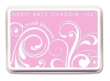 Hero Arts SHADOW Ink Pad SOFT BLOSSOM Pink AF147