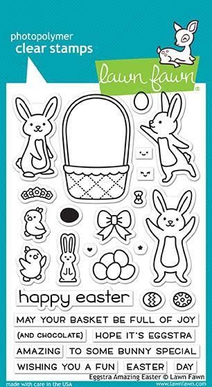 Lawn Fawn EGGSTRA AMAZING EASTER Clear Stamps LF1884 zoom image