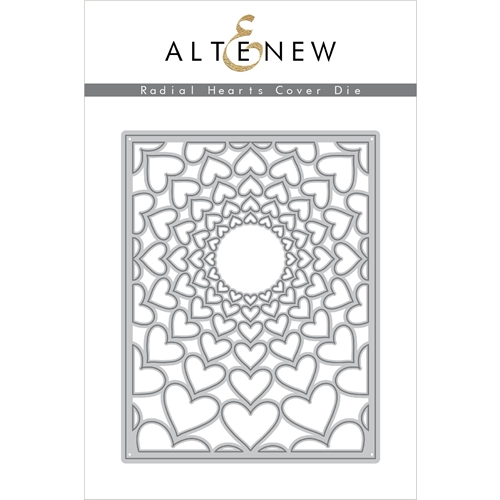 Altenew RADIAL HEARTS COVER Die ALT2946 Preview Image