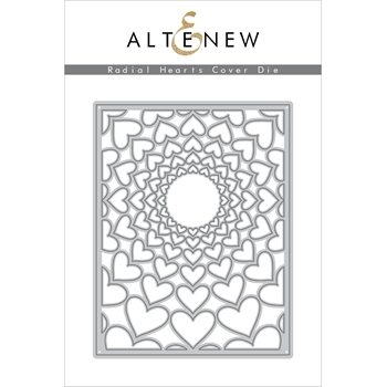Altenew RADIAL HEARTS COVER Die ALT2946