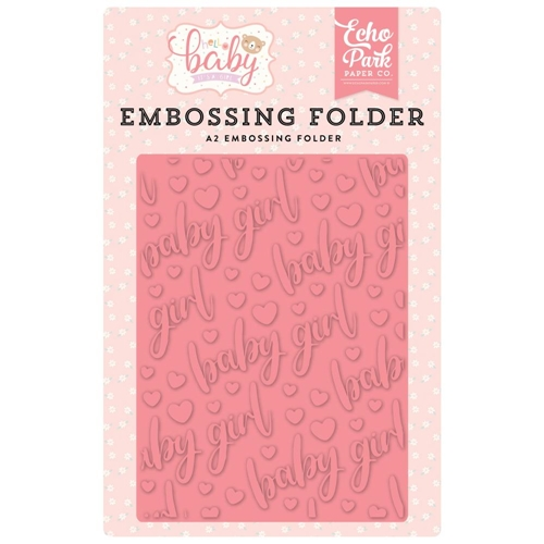 Echo Park BABY GIRL Embossing Folder obg171031* Preview Image